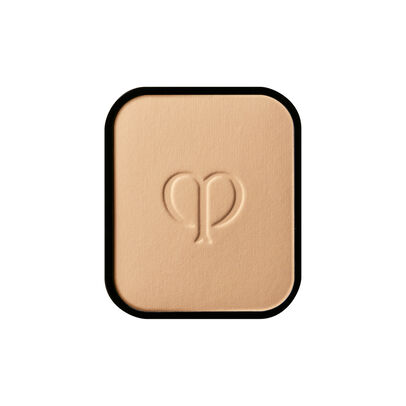 A magnified image of the texture of the Radiant Powder Foundation Refill, Light Beige