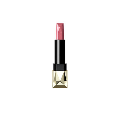 A magnified image of the texture of the Extra Rich Lipstick Refill (Velvet), Pale pink
