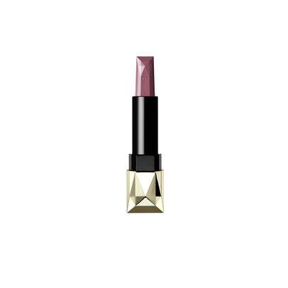 A magnified image of the texture of the Extra Rich Lipstick Refill (Silk), Dusty mauve