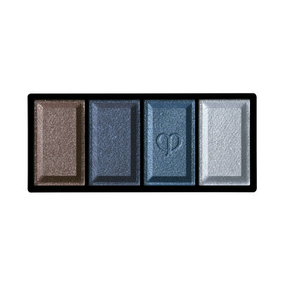 A magnified image of the texture of the Eye Color Quad Refill, 312