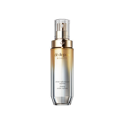 A magnified image of the texture of the Firming Serum Supreme,