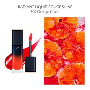 Radiant Liquid Rouge Shine, Orange Crush