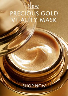 New Precious Gold Vitality Mask. Shop Now.