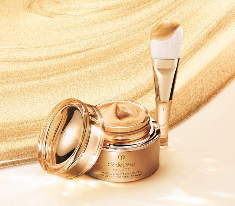 Masque Vitalité Precious Gold